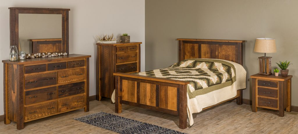 Silverton Reclaimed Barnwood Bedroom